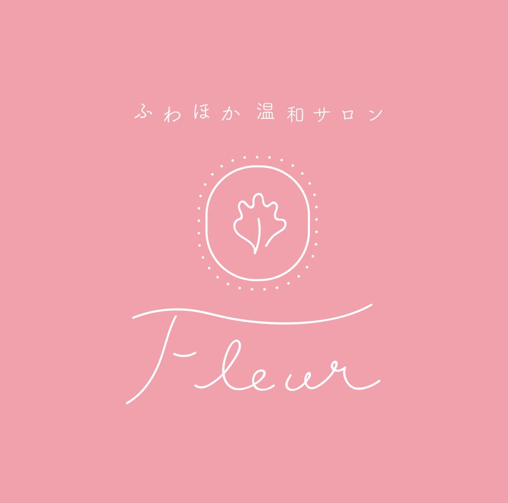 フルールロゴピンク正方形